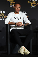 Mg Zurigo (Svizzera) 11/01/2015 - Fifa Ballo 2015 / foto Matteo Gribaudi/Image Sport<br /> nella foto: Neymar