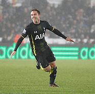 Swansea City v Tottenham Hotspur 141214