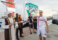 FERZULI Jorge MEX Mexico<br /> FINA High Diving World Cup 2016<br /> Abu Dhabi Sailing and Yacht Club <br /> Corniche Breakwater -Abu Dhabi - U.A.E.<br /> Day0  26 Feb.2016<br /> Photo G.Scala/Insidefoto/Deepbluemedia