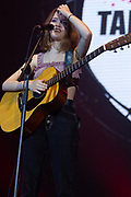 Maisie Peters performs at the Girl Guiding Scotland Tartan Gig at SSE Hydro, Glasgow, Scotland on 31 August 2019. Picture by Colin Poultney.