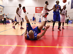 Cardell McFarland of Bristol Flyers scores  - Mandatory byline: Joe Meredith/JMP - 28/11/2015 - Basketball - SGS Wise Campus - Bristol, England - Bristol Flyers v Worcester Warriors - British Basketball League
