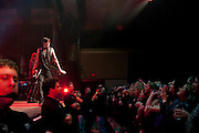 Hinder performing at the Egyptian Room at the Old National Theatre in Indianapolis, IN on February 22, 2011