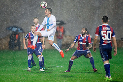 Mario Gavranovic of HNK Rijeka during football match between HNK Rijeka and HNK Hajduk Split in Round #15 of 1st HNL League 2016/17, on November 5, 2016 in Rujevica stadium, Rijeka, Croatia. Photo by Vid Ponikvar / Sportida
