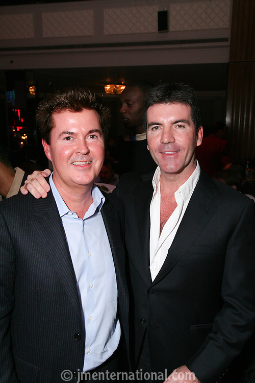 Simon Fuller and Simon Cowell