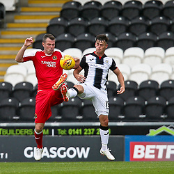 St Mirren v Dumbarton, BetFred Cup, 28 July 2018