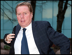Harry Redknapp arriving at Southwark Crown Court where he is appearing accussed of tax evasion, Monday January 23, 2012. Photo By Andrew Parsons/ i-Images
