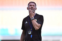Head coach Ryan Giggs of Wales national football team takes part in a training session before the semi-final match against China during the 2018 Gree China Cup International Football Championship in Nanning city, south China's Guangxi Zhuang Autonomous Region, 20 March 2018.