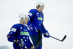 Anze Kopitar during practice session of Slovenian National Ice Hockey Team prior to the IIHF World Championship in Ostrava (CZE), on April 21, 2015 in Hala Tivoli, Ljubljana, Slovenia. Photo by Vid Ponikvar / Sportida