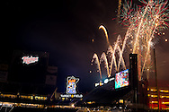 A general view of Target Field on June 6, 2014 in Minneapolis, Minnesota.  Photo by Ben Krause