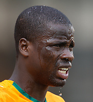 Photo: Steve Bond/Richard Lane Photography.<br />Ivory Coast v Benin. Africa Cup of Nations. 25/01/2008. Emmanuel Eboue, Ivory Coast & Arsenal, in the heat of Sekondi