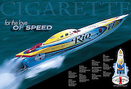 Cigarette Racing image advertisement