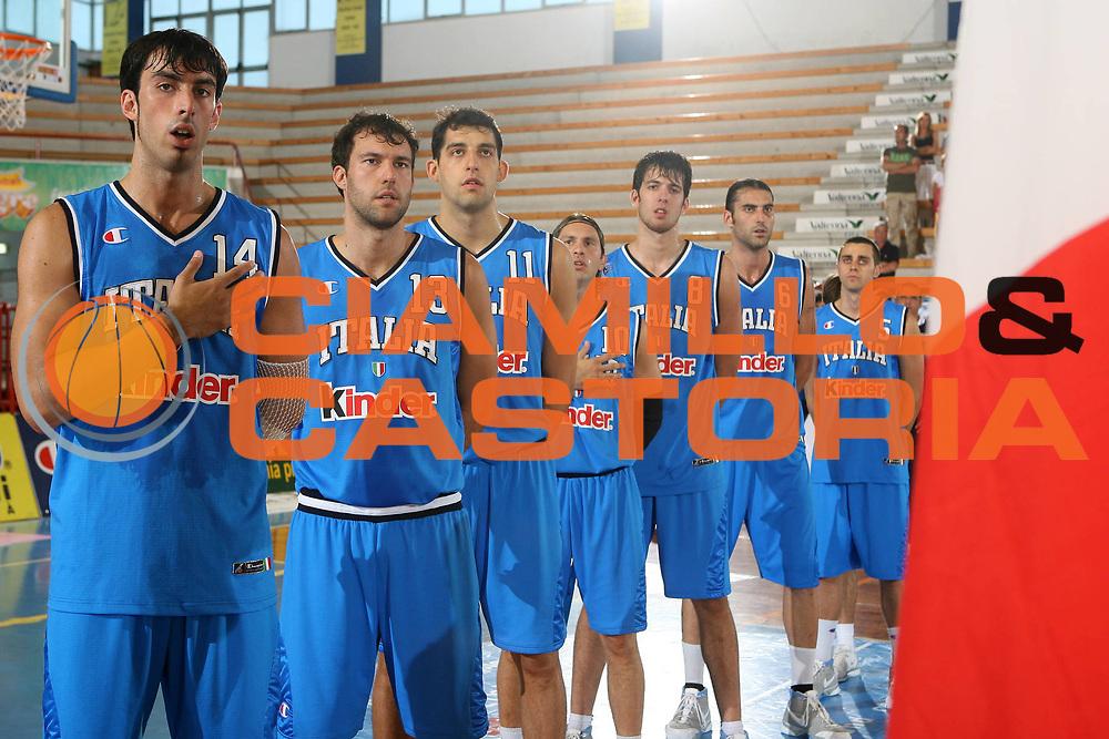 DESCRIZIONE : Porto San Giorgio Torneo Internazionale dell'Adriatico Italia-Cina Italy-China<br /> GIOCATORE : Fantoni Boscagin Garri Pecile Brkic Di Giuliomaria Maresca<br /> SQUADRA : Italy Italia<br /> EVENTO : Porto San Giorgio Torneo Internazionale dell'Adriatico Italia-Cina <br /> GARA : Italia Cina Italy China<br /> DATA : 02/07/2006 <br /> CATEGORIA : <br /> SPORT : Pallacanestro <br /> AUTORE : Agenzia Ciamillo-Castoria/E.Castoria