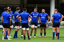 Bath Rugby players look on, Bath Rugby were allowed to start Stage Two of the Premiership Rugby return to play protocol - Mandatory byline: Patrick Khachfe/JMP - 07966 386802 - 06/08/2020 - RUGBY UNION - The Recreation Ground - Bath, England - Bath Rugby training