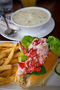 Lobster Roll, Newport, Rhode Island, USA