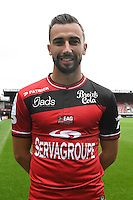 Nicolas Benezet of Guingamp during the Photo shooting of En Avant Guingamp on september 27th 2016<br /> Photo : Philippe Le Brech / Icon Sport