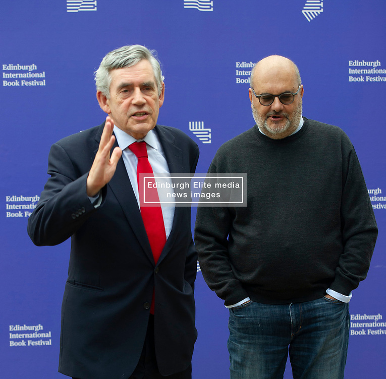 Pictured: Gordon Brown and Branko Milanović <br /><br />James Gordon Brown HonFRSE (born 20 February 1951) is a British politician who was Prime Minister of the United Kingdom and Leader of the Labour Party from 2007 to 2010. He served as Chancellor of the Exchequer from 1997 to 2007.<br />Branko Milanović born October 24, 1953 in Belgrade, SR Serbia is a Serbian-American economist. He is most known for his work on income distribution and inequality.<br />Ger Harley | EEm 14 August 2019