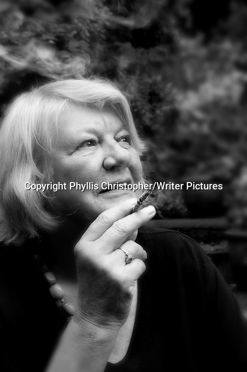 Lynn Barber, journalist<br /> 6th August 2009<br /> <br /> Photograph by Phyllis Christopher/Writer Pictures<br /> <br /> WORLD RIGHTS
