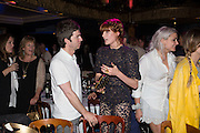 NOEL GALLAGHER; FLORENCE WELCH, The Hoping Foundation  'Rock On' benefit evening for Palestinian refugee children.  Cafe de Paris, Leicester Sq. London. 20 June 2013