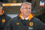 Hull City Manager Nigel Adkins during the EFL Sky Bet Championship match between Hull City and Barnsley at the KCOM Stadium, Kingston upon Hull, England on 27 February 2018. Picture by Craig Zadoroznyj.