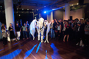 NOBURU TSUBAKI; PESTIVAL'S ARTIST IN RESIDENCE, VIP. Very Important Pest opening  party. Pestival. South Bank. 4 September 2009