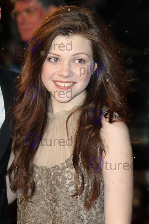 Georgie Henley The Chronicles of Narnia: The Voyage of the Dawn Treader World Premiere, Odeon Cinema, Leicester Square, London UK, 30 November 2010: piQtured Sales: Ian@Piqtured.com +44(0)791 626 2580 (picture by Richard Goldschmidt)