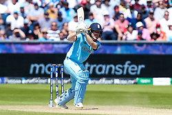 Eoin Morgan of England - Mandatory by-line: Robbie Stephenson/JMP - 03/07/2019 - CRICKET - Emirates Riverside - Chester-le-Street, England - England v New Zealand - ICC Cricket World Cup 2019 - Group Stage