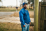 VALLEY GRANDE, AL – FEBRUARY 7, 2019: Maury Davis, 51, is seen outisde his home. On June 28, 1992, at age 12, Davis accidentally shot his best friend as the two were playing with a handgun in his family's Bronx apartment. The injury left his friend paralyzed for life. Despite the trauma, Davis and his friend, Jeff Williams, maintain an enduring friendship. CREDIT: Bob Miller for The New York Times