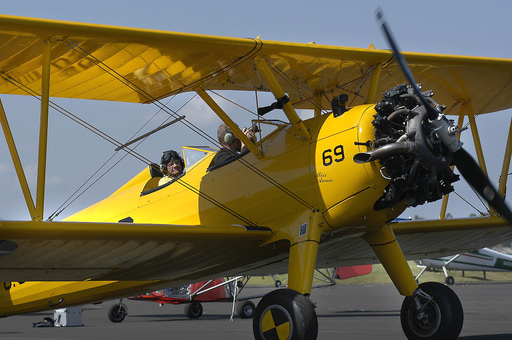 ?Fly in Day? at O.U. Bush Airport : Photos by Johnny Hanson