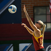 USC Beach Volleyball v UCLA | Pac -12 Championship | Rachel Bennett