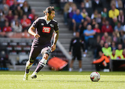 Derby County midfielder and goal scorer Bradley Johnson during the Sky Bet Championship match between Milton Keynes Dons and Derby County at stadium:mk, Milton Keynes, England on 26 September 2015. Photo by David Charbit.