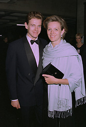MR & MRS JAMES OGILVY, he is the son of Princess Alexandra at a reception in London on 30th September 1997.MBT 32