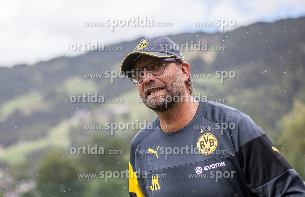 10.07.2014, Sportplatz, Brixen im Thale, AUT, Borussia Dortmund Trainingslager, im Bild Trainer Jürgen Klopp // Headcoach Jürgen Klopp during a Trainingssession of the German Bundesliga Club Borussia Dortmund at the Sportplatz, Brixen im Thale, Austria on 2014/07/10. EXPA Pictures © 2014, PhotoCredit: EXPA/ JFK