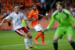 04-06-2014 NED: Vriendschappelijk Nederland - Wales, Amsterdam<br /> Nederland wint met 2-0 van Wales / Jeremain Lens