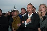 JONAS TAHLIN; JANINA BOSS, Absolut Art Bureau cocktails and dinner to celebrate the announcement of the 2013 Absolut Art Award shortlist. Bauer Hotel, San Marco. Venice. Venice Bienalle. 28 May 2013