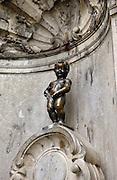 Manneken Piss Statue, Brussels, Belgium