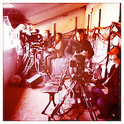 Roland Garros 2011. Paris, France. May 28th 2011..TV crew - Court Philippe Chatrier