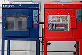20121215 Le Soir newspaper on strike