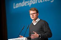 DEU, Deutschland, Germany, Berlin, 17.11.2018: Dr. Julian Zado, stellvertretender SPD-Landesvorsitzender, beim Landesparteitag der Berliner SPD im Hotel Maritim.