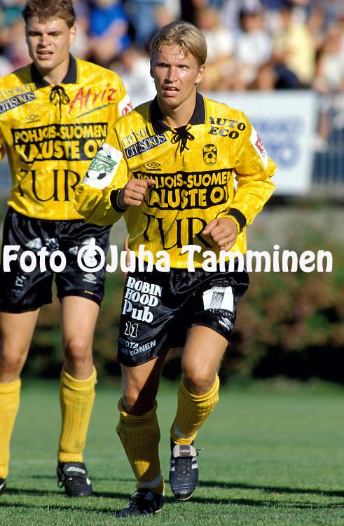 31.07.1994, Kupittaa, Turku..Veikkausliiga, Turun Palloseura v Kuopion Palloseura..Janne Savolainen - KuPS.©Juha Tamminen