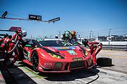 March 15-17, 2018: Mobil 1 Sebring 12 hour. 48 Paul Miller Racing, Lamborghini Huracan GT3, Bryan Sellers, Corey Lewis, Madison Snow,