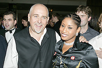 Peter Gabriel and Mrs Youssou N'dour