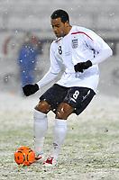 Fotball<br /> 27 mars 2009<br /> Landskamp<br /> Norge U21 - England U21<br /> Tom Huddlestone , England<br /> Foto: Reidar Talset , Digitalsport
