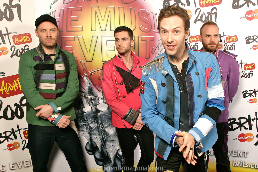 Coldplay - Backstage
