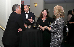 Guests mingle before the show during the Professional Footballers' Association Awards 2017 at the Grosvenor House Hotel, London