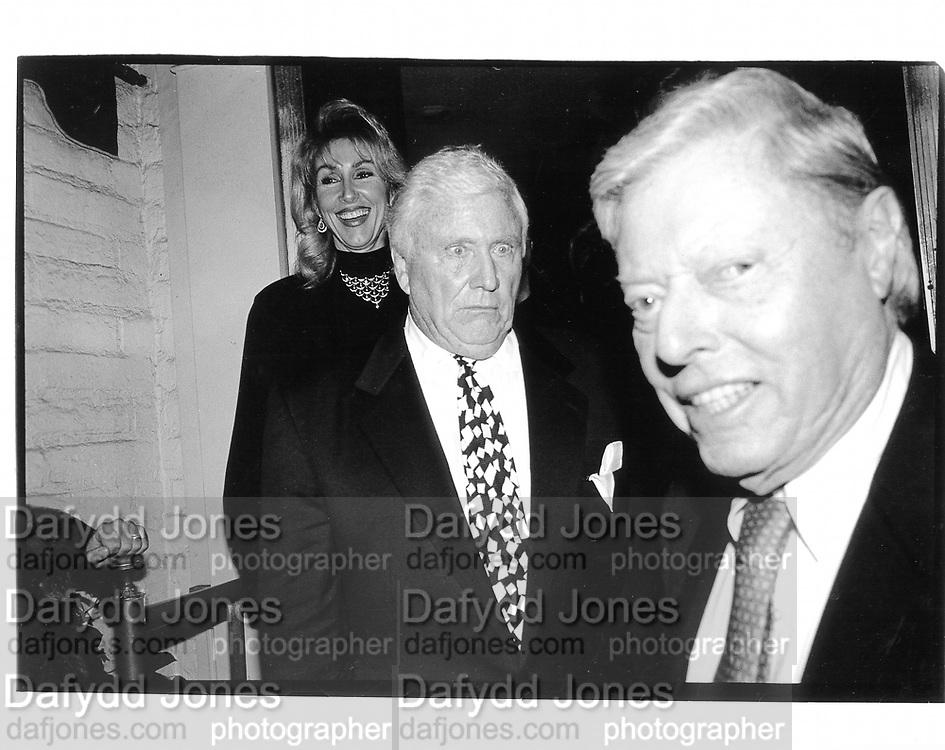 Merv Griffin. LA. 1994 approx. © Copyright Photograph by Dafydd Jones 66 Stockwell Park Rd. London SW9 0DA Tel 020 7733 0108 www.dafjones.com