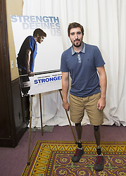September 10, 2017 - Toronto, California, Canada - Jeff Bauman the story of his life in the movie Stronger played by Jake Gyllenhaal (Credit Image: © Armando Gallo via ZUMA Studio)