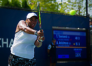 Taylor Townsend of the United States in action during the first round of the 2018 US Open Grand Slam tennis tournament, at Billie Jean King National Tennis Center in Flushing Meadow, New York, USA, August 28th 2018, Photo Rob Prange / SpainProSportsImages / DPPI / ProSportsImages / DPPI
