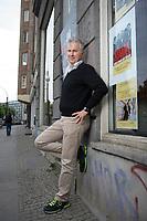 21 MAY 2012, BERLIN/GERMANY:<br /> Christophe F. Maire, Gruender / CEO txtr, Inhaber atlantic ventures, Investor und  Business Angel, Rosenthaler Str., Berlin-Mitte<br /> IMAGE: 20120521-02-061<br /> KEYWORDS: Christophe Maire