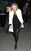 05.FEBRUARY.2011. LONDON<br /> <br /> MODEL KATE MOSS LEAVING THE BURLESQUE NIGHTCLUB THE BOX WITH BOYFRIEND JAMIE HINCE AND FASHION DESIGNER JOHN GALLIANO IN SOHO, CENTRAL LONDON.<br /> <br /> BYLINE: EDBIMAGEARCHIVE.COM<br /> <br /> *THIS IMAGE IS STRICTLY FOR UK NEWSPAPERS AND MAGAZINES ONLY*<br /> *FOR WORLD WIDE SALES AND WEB USE PLEASE CONTACT EDBIMAGEARCHIVE - 0208 954 5968*