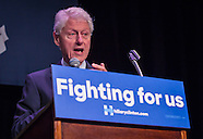 Bill Clinton Stumps for Hillary